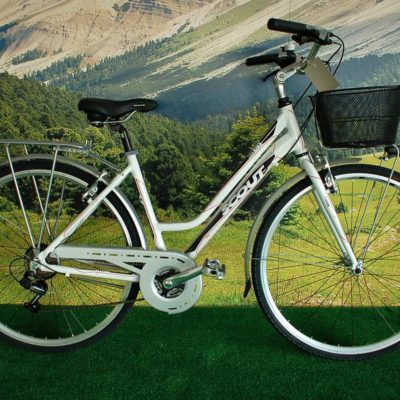 CITY LADY ALU 21 VELOCITA STI WHITE