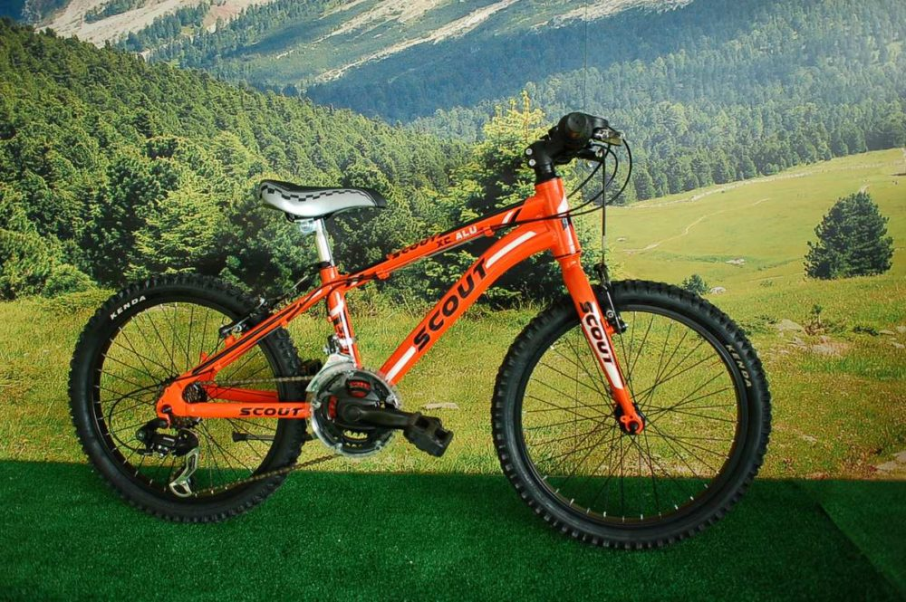 MTB 20 XC ALU RIGIDA ORANGE 18 VEL