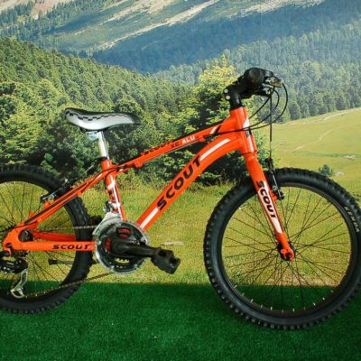 MTB 20 XC ALU RIGIDA ORANGE