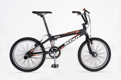 BMX 20 EXTRA BLACK ORANGE