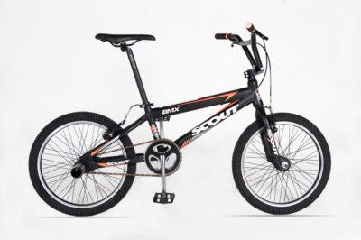 SCOUT BMX 20 EXTRA BLACK ORANGE