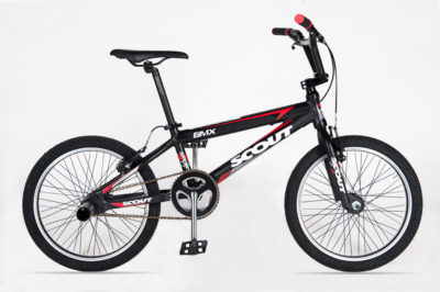 SCOUT BMX 20 EXTRA BLACK RED