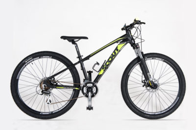 SCOUT MTB INTEGRA 27,5 DISK MECCANICO BLACK YELL