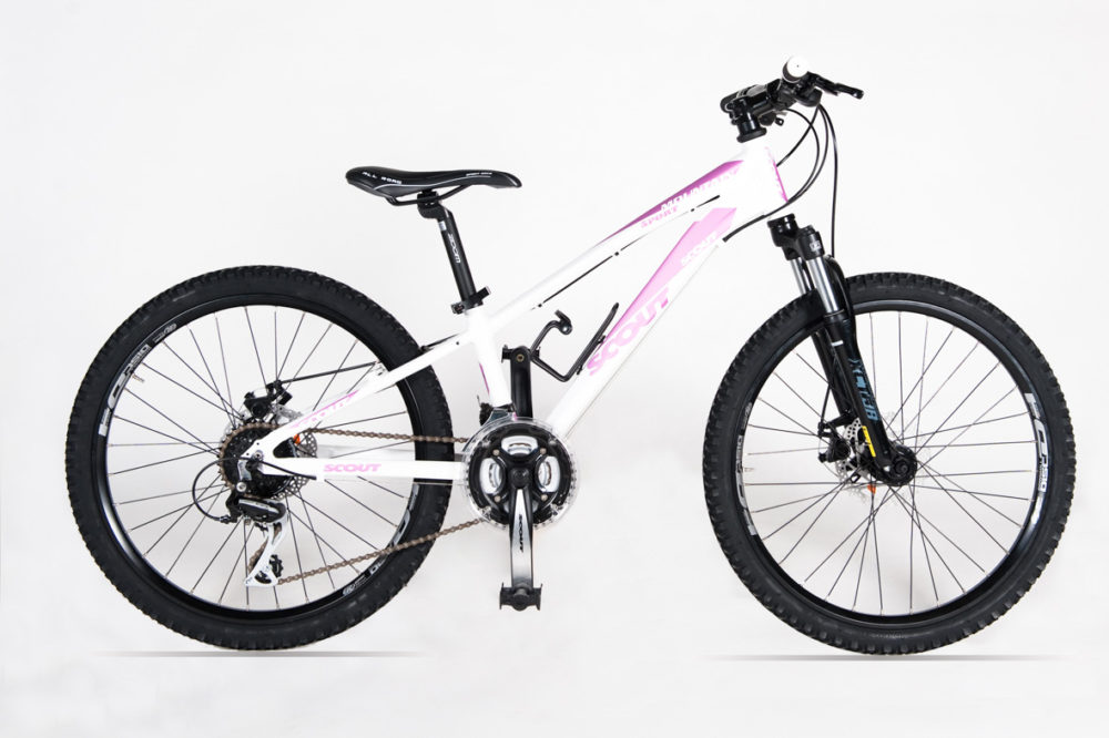 SITO MTB 24 MOUNTAIN SPORT DISK BIA ROSA