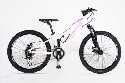 SCOUT MTB 24 MOUNTAIN SPORT DISK WHITE PINK