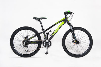 MTB 24 MOUNTAIN SPORT DISK BLACK YELLOW